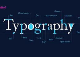 تایپوگرافی در طراحی وب سایت