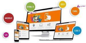 مشخصات طراحی سایت حرفه ای و مدرن